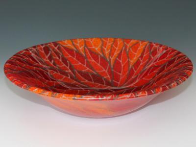Red Nest Bowl #44