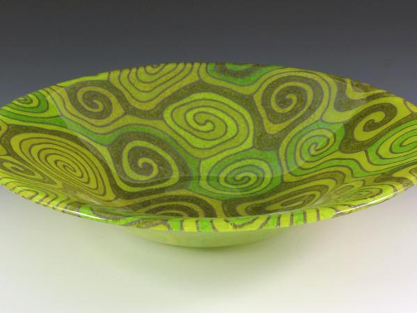 Lime Topo Bowl #84
