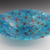 Blue Bouquet Bowl #30
