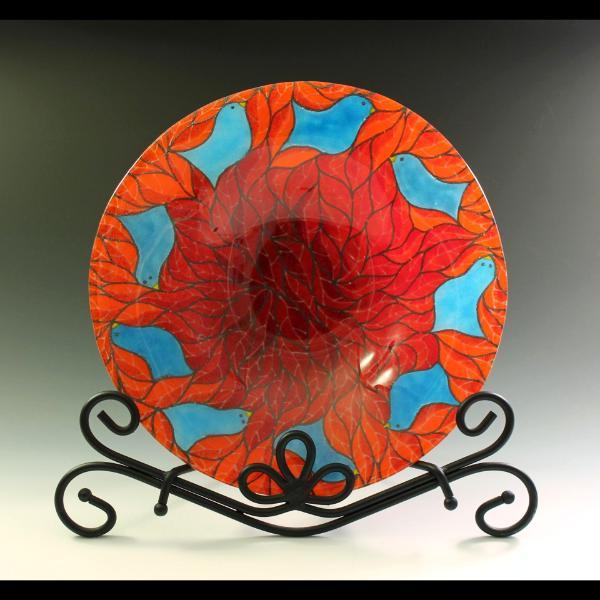 Bird Rim Bowl #117