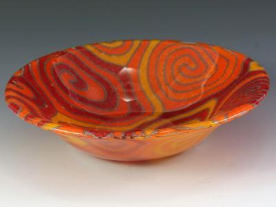 Orange Topo Bowl #72