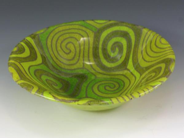 Lime Topo Bowl #74