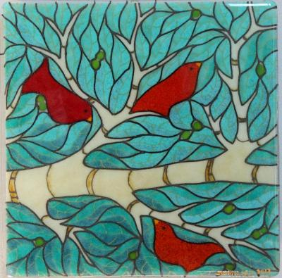 Summer Bird Panel