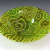 Lime Topo Bowl #86