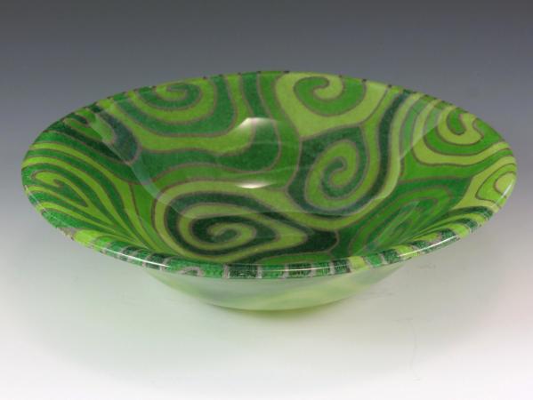 Green Topo Bowl #81