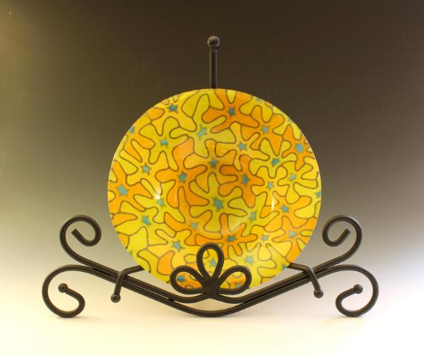 Yellow Bouquet Bowl #135
