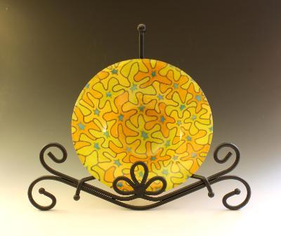 Yellow Bouquet Bowl #135