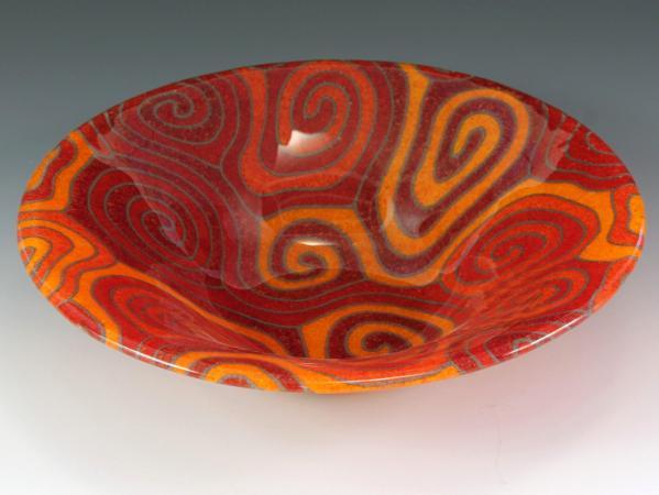 Orange Topo Bowl #78