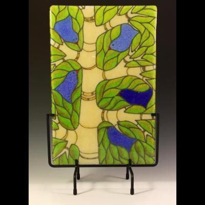 Bird Song Panel- Hydrangea
