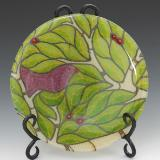 Lime Bird Plate #36